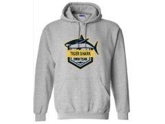 URBANA TIGER SHARKS 50/50 HOODIE (MEN'S & YOUTH SIZING)