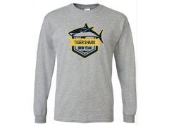 URBANA TIGER SHARKS 50/50 LS TEE (MEN'S & YOUTH SIZING)