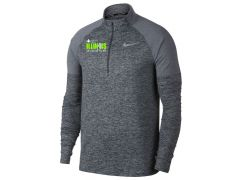 Illinois Marathon Men's Nike Element 1/2-Zip Running Top