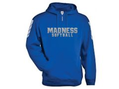Midstate Madness Badger 1/4 Zip Hoodie