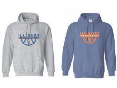 University High Basketball Gildan 50/50 Hoodie